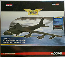 Corgi Aviation B-52H Stratofortress 1990 US33508 Certificate No 1200 of 1200