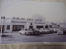 1951 ? STUDEBAKER  DEALERSHIP 11 X 17  PHOTO /  PICTURE