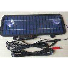 12V 4.5W Smart Solar Power Panel Battery Charger for Auto Car Boat Motorcycle