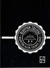 Bluffton College Ohio 1969 Ista Yearbook Annual College OH