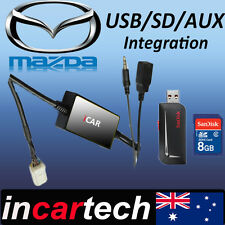 Mazda 3/6/CX7/RX8/MX5/323 Factory Radio USB/AUX/SD Interface Adaptor Adapter