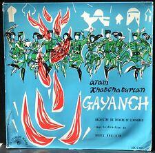 Khatchaturian Gayaneh Boris Khaikin LP & CV EX