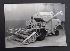 Photo ancienne BRAUD moissonneuse batteuse A2480V tractor tracteur Traktor 20