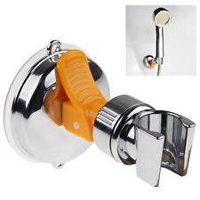 No Drilling Attachable Shower Hand Head Holder Bracket Mount Suction Cup