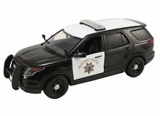 MOTOR MAX 1/24 - 2015 FORD POLICE INTERCEPTOR UTILITY CALIFORNIA HIGHWAY PATROL