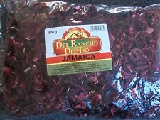 Flor De Jamaica Hibiscus Flowers Direct from Mexico 17.6 oz Dried For Herbal Tea