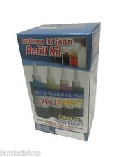 4 Clr CIS Refill ink kit for Brother MFC-230C MFC-240C