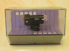 SHURE PRESENCE 500S P-MOUNT CARTRIDGE & NOS GENUINE SHURE STYLUS IN DISPLAY CASE