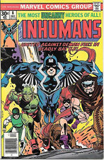 The Inhumans Comic Book #8, Marvel Comics 1976 NEAR MINT