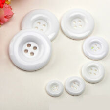 16 Size DIY Resin 4 Holes Round Pattern Buttons Sewing Clothes Accessories
