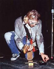 Boss 1988 DS-2 Turbo Nirvana KURT COBAIN pedal stage used VERY RARE!