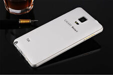 Back Case Cover For Samsung Galaxy Note 3 4 S4/6 Luxury Aluminum Metal Bumper PC