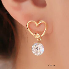 canada Zircon Earrings hypoallergenic Ear Stud Fine Jewelry will remove in timeM