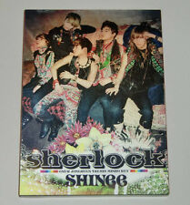SHINee Sherlock Japanese ver. Single CD+DVD+BOOKLET
