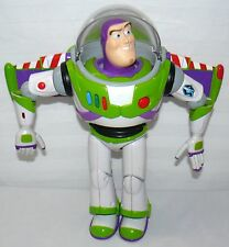 TOY STORY TALKING BUZZ LIGHTYEAR BLACK STAR ON JET PACK