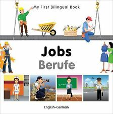 My First Bilingual Book-Jobs (English-German), Milet Publishing, Good Book