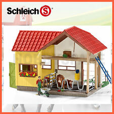 NEW SCHLEICH FARM WORLD BARN PLAY SET with ANIMALS & ACCESSORIES 42334