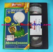 VHS film MICROCOSMOS 1996 Il popolo dell'erba documentario PANORAMA (F70) no dvd