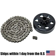 Mini Bike Go Kart Centrifugal Clutch 3/4'' Bore 10T #40/41/420 5ft chain
