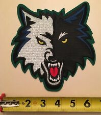 "Minnesota Timberwolves Embroidered Patch NBA T Wolves 6"" X 7"""