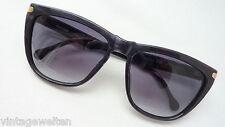 JIL SANDER Sonnenbrille groß schwarz  true 80s Vintage NEU hochwertig edel