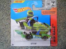 HOT Wheels 2014 # 165/250 LET'S GO GREEN GO CART HW razza lotto di N nuova colata 2014