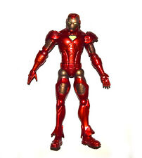"Marvel Legends Iron Man Red Dark Golden Armor 7"" Action Figure Loose"