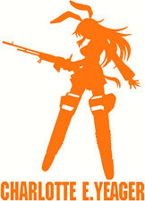 Strike Witches Charlotte E Yeager character decal