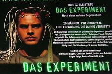Moritz Bleibtreu DAS EXPERIMENT original Kino Aushangfotos 10 Motive