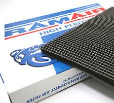 Ramair ALTO FLUSSO Pannello Filtro Aria Materiale Espanso + acciaio inossidabile mesh GABBIA