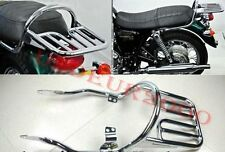 Luggage Rack for Triumph Bonneville T100 SE Thruxton 900 Scrambler Chrome/Black