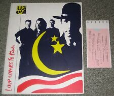 U2 Japan Tour Book with Ticket Stub Bono Concert Program others available