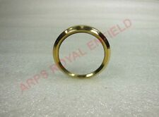 NEW SMITHS REPRODUCED AMMETER REPLACEMENT BRASS BEZEL RING