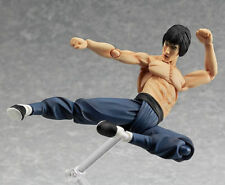 "MF Figma No.266 Chinese Kungfu Bruce Lee Action PVC 5.51"" Figure New Box"