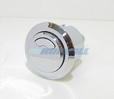 ROUND DERWENT MACDEE KAYLA DUAL FLUSH BUTTON CHROME PUSH TOILET CISTERN