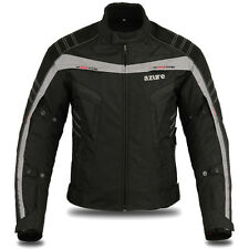"Motorcycle Motorbike Racing Waterproof Cordura Textile Jacket 2287 L (38""-40"")"