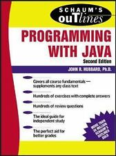 Schaum's Outline of Programming with Java by Hubbard, John