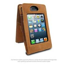 MacCase Premium Leather iPhone 4 / 4s Case - Vintage