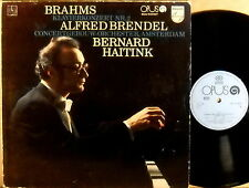 PHILIPS OPUS Brahms BRENDEL Piano Concerto #2 HAITINK Czech Pressing 9110 0417