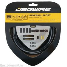 Jagwire Universal Sport Brake Cable Kit Includes Housing and Cable Black Bike