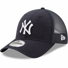 New Era New York Yankees Navy Trucker Washed Original Fit 9FORTY Adjustable Hat