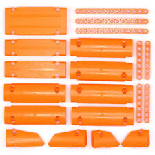 Lego Technic - Orange Studless Panels Fairings Beams - Selection 20 Parts - NEW