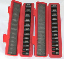 "Tekton 25 Pc. 3/8"" Drive 6-Point Shallow Impact Socket Set SAE/METRIC-WARRANTY"