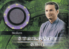 STARGATE SEASON FOUR COSTUME CARD C10 MOLLEM