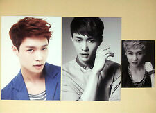 EXO SM Town SMTOWN Week Limited Edition Goods Photo Postcard - LAY Set (3 pcs)