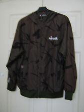 Chicos Airwalk chaqueta verde, con capucha y bolsillos con cremallera Talla 13 años
