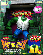 "Electronic Raging Incredible Hulk ""8"" Toy Biz New IN Box"