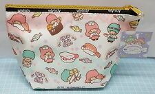 Sanrio Little Twin Stars Polyester Zip Bag #1 Japan Limit  , h#1