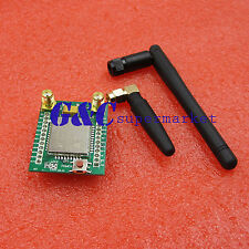 A7 GPRS GSM Module Adapter Board Plate Quad-band 850 900 1800 1900MHZ +Antenna