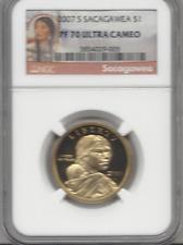2007 S Sacagawea $1 Ngc Pf70 Ultra Cameo Red Label
